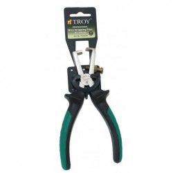 Клещи за оголване на кабел 160 мм / TROY 21014 / 1