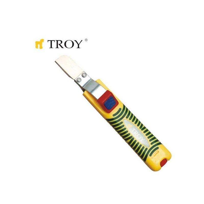 Инструмент за оголване на кабели Ø 8-28 мм / Troy 24001 /