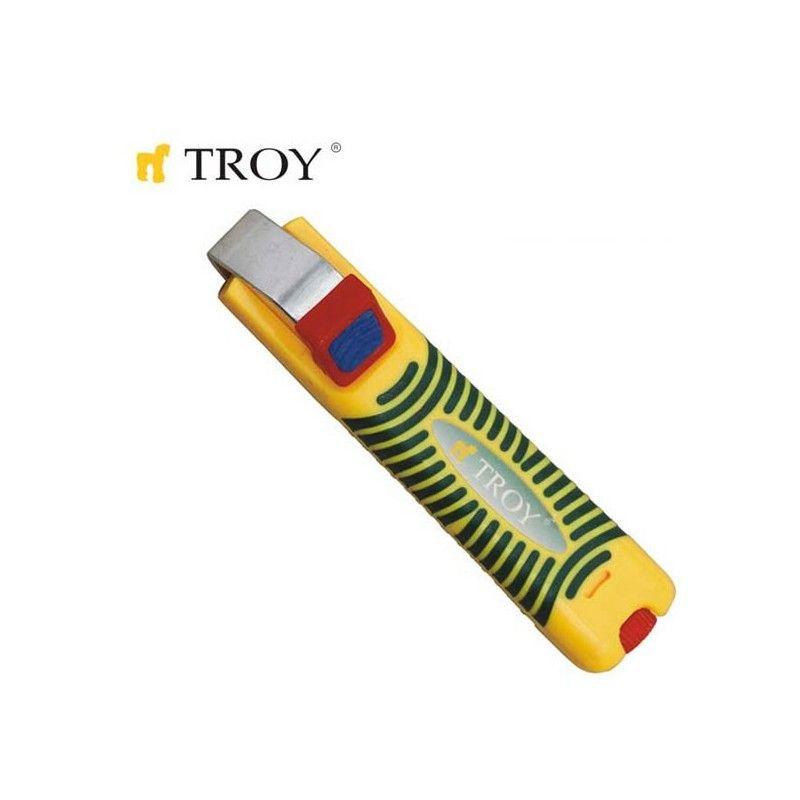 Инструмент за оголване на кабели Ø 8-28 мм / TROY 24004 /
