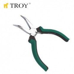 Electricians Bent-Nose Plier 115mm / Troy 21054 / 1