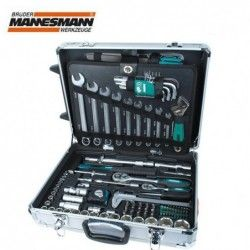 Tool Set in Alu-Trolley 159 Pieces / Mannesmann 29077 / 4