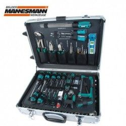 Tool Set in Alu-Trolley  / Mannesmann 29077 / 5