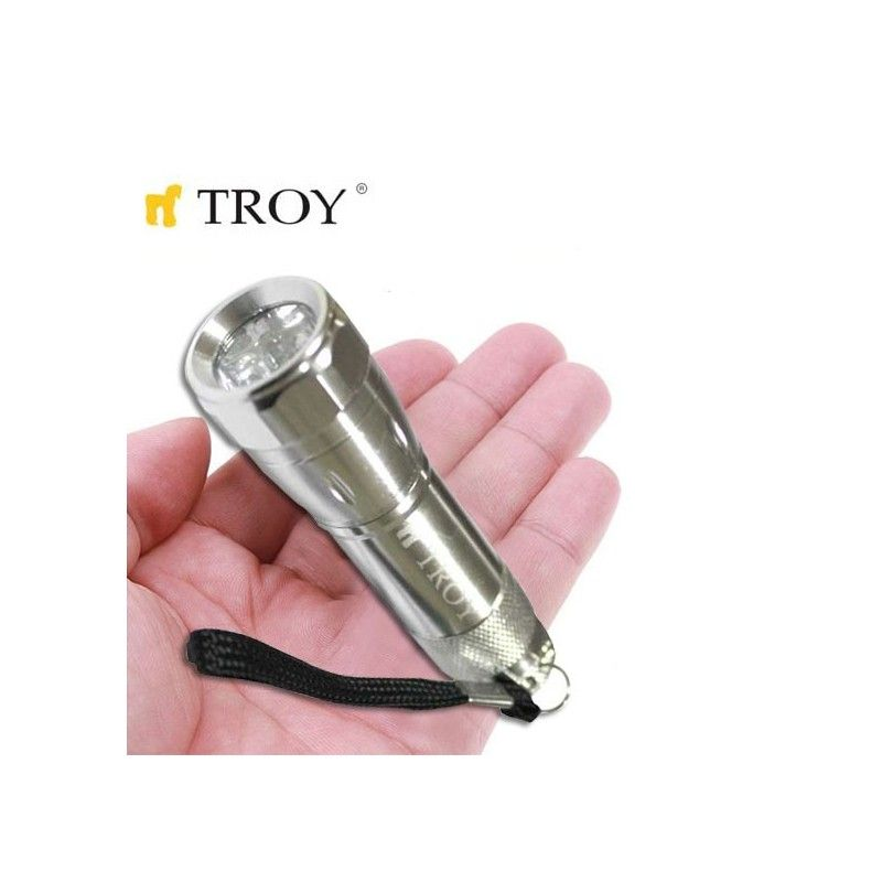 Aluminium Flashlight 24 Pcs in Display Box TROY - 2