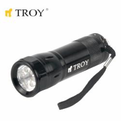 Aluminium Flashlight 24 Pcs in Display Box / Troy / 3