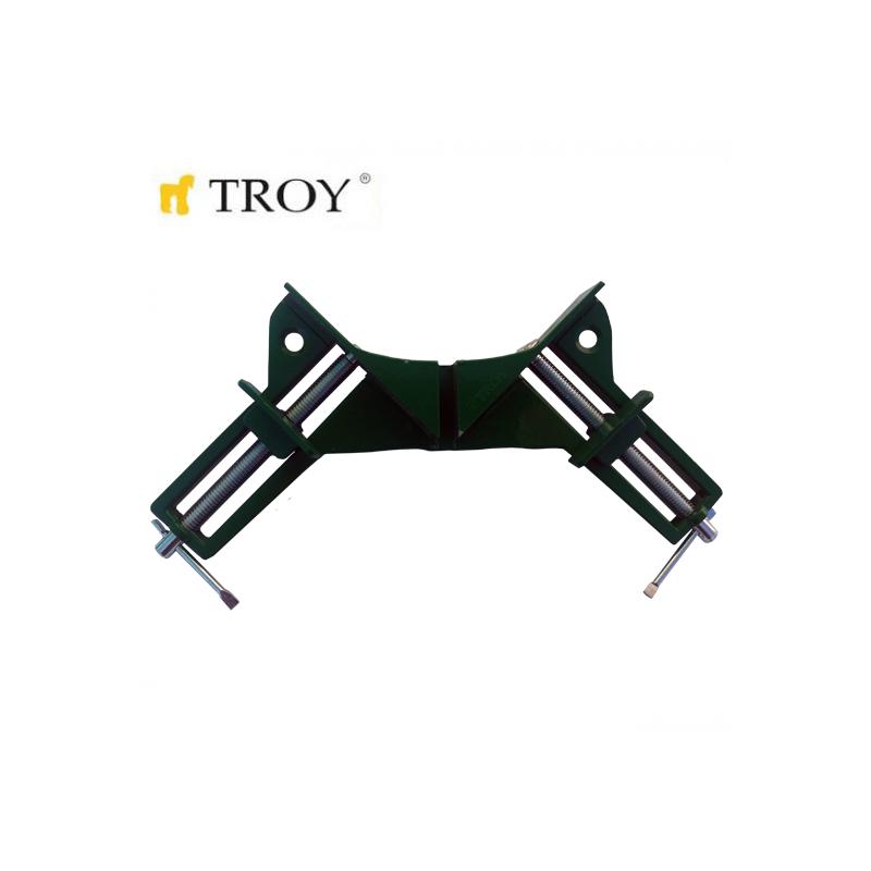Дърводелска ъглова стяга 0-75mm  / Troy 25038 /