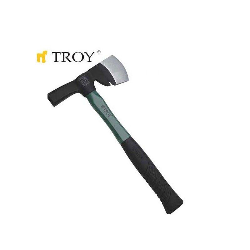 Брадва-чук с дръжка от фибростъкло 600 гр.  / TROY 27225 /