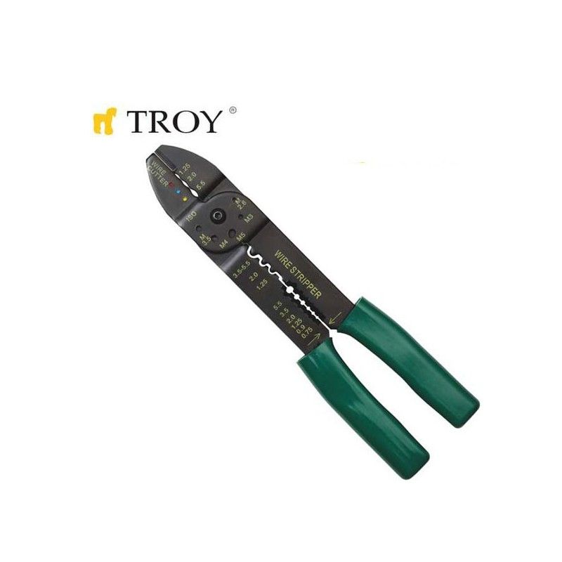 Crimping Pliers 200mm / TROY 24006 /