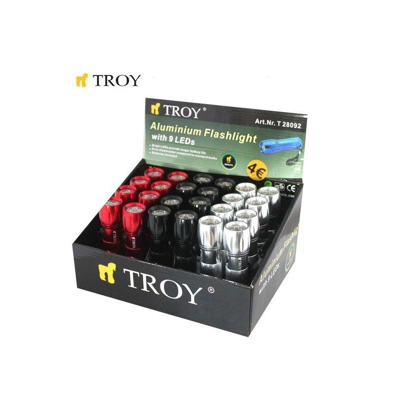 Aluminium Flashlight / Troy 28092 /