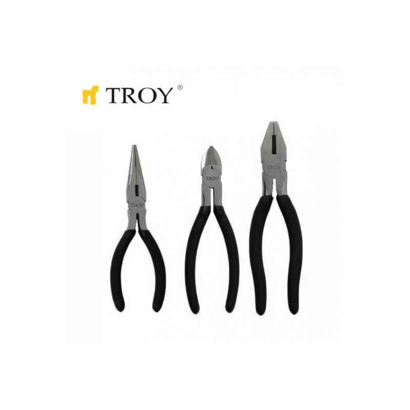 Комплект клещи 3 бр. / TROY 21060 /