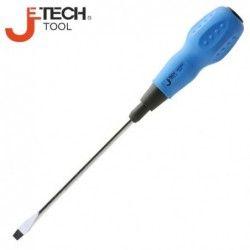 Права отвертка 6мм 125мм дължина, с мека дръжка  / JeTECH ST6-125 /