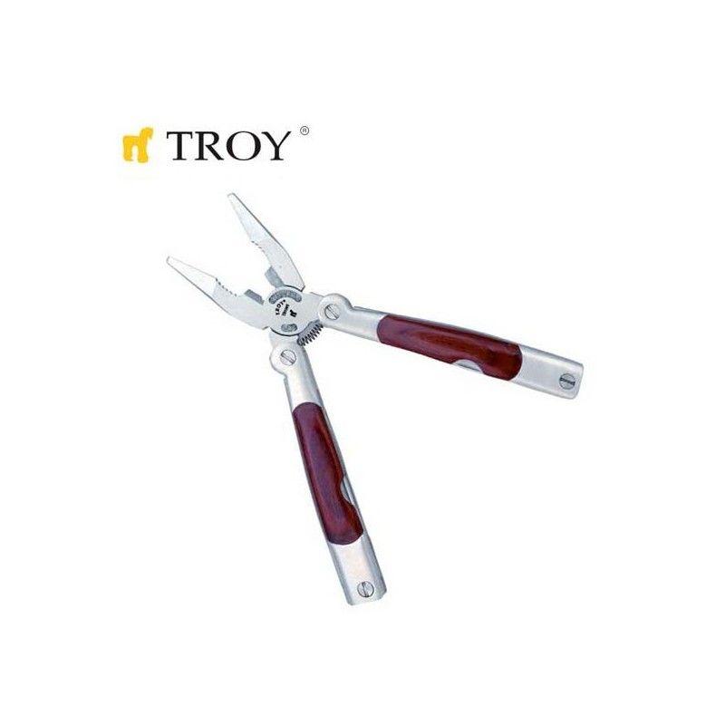 Комплект джобни инструменти 15 в 1  / TROY 21091 /