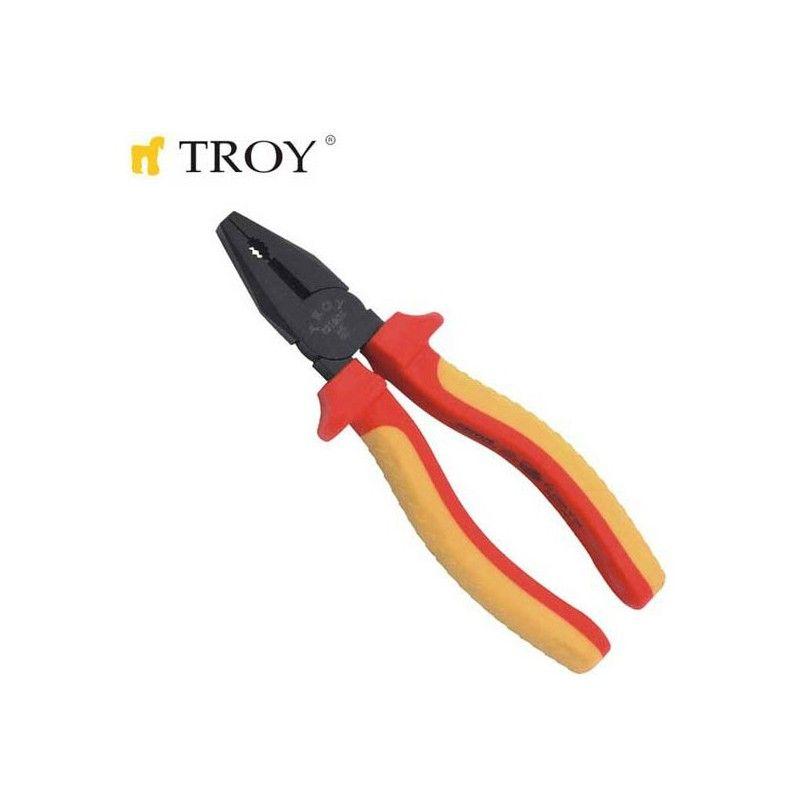 TROY 21806 Kombine Pense S.O.S. 1000 V 160mm