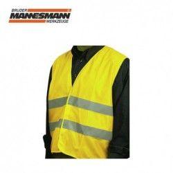 Safety vest, yellow / Mannesmann 01551 /