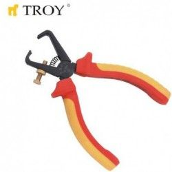 VDE Клещи за оголване на кабели 160 мм  / TROY 21836 /
