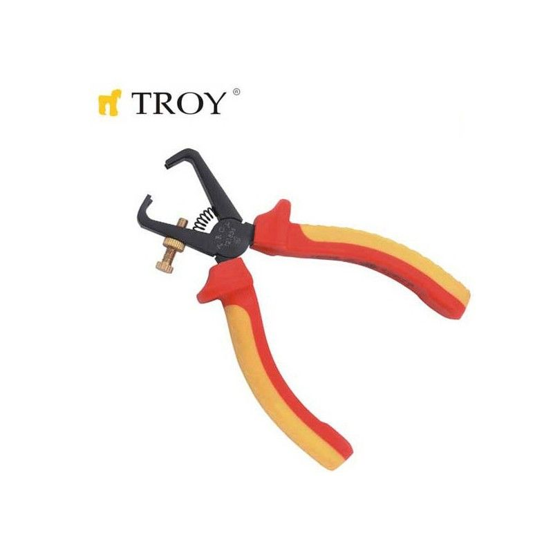 Stripping Plier 1000V VDE 160mm  / TROY 21836 /