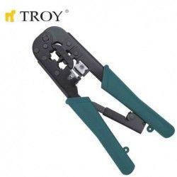 Клещи комбинирани кримпващи / TROY T 24008 /
