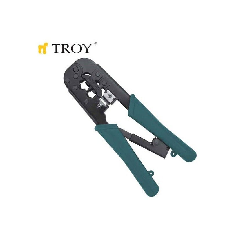Crimping Plier for Western Plugs  / TROY T 24008 /