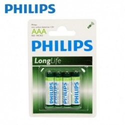 Batteries Philips AAA 4pcs.