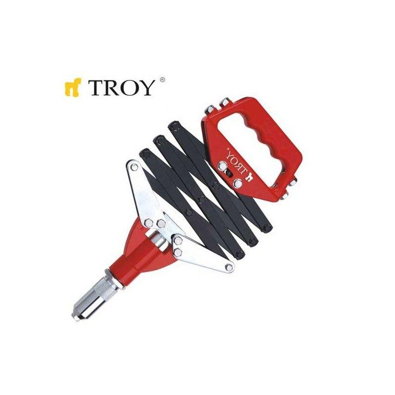 Професионална сгъваема нитачка  / TROY 21172 /