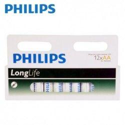 Batteries Philips AA 12pcs.
