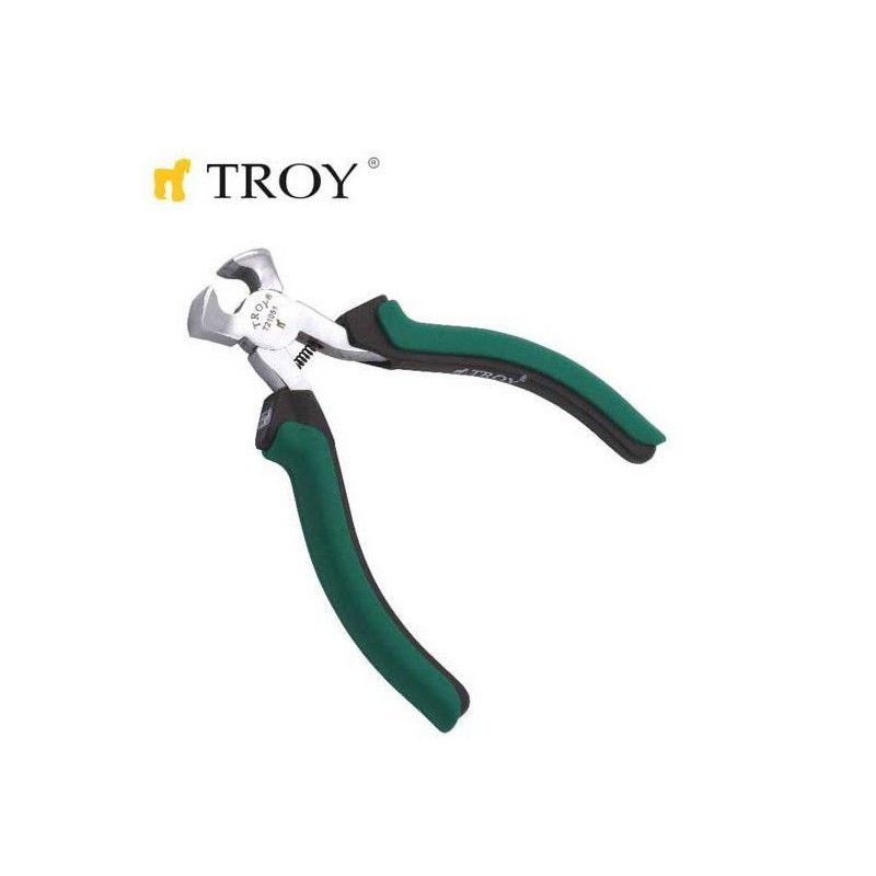 Клещи челна резачка, мини 115мм / TROY 21051 /