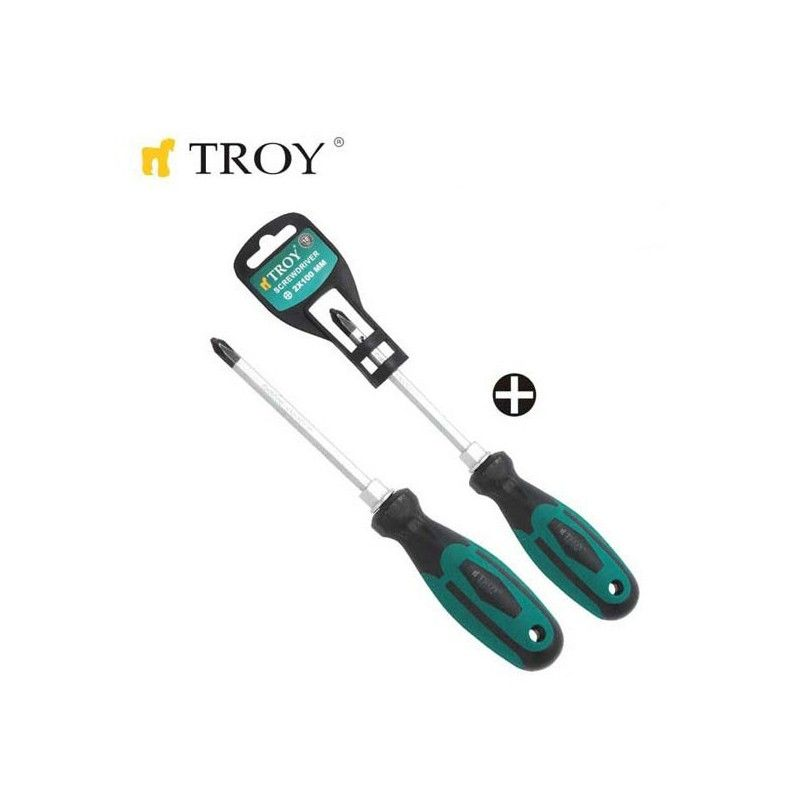 Screwdriver - Philips PH1x75mm  / TROY 22104 /
