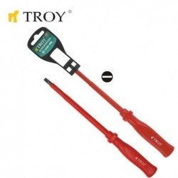 Electrician's Screwdriver - Slotted 3,0x 75mm  / TROY 22120 / 1