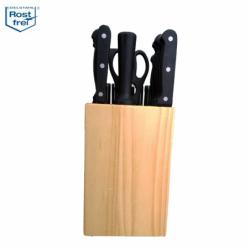 Комплект ножове със стойка 22 части   Аксесоари за кухня