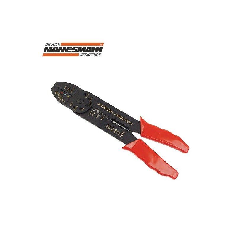Клещи за кабелни обувки, 225 мм  / MANNESMANN 1092-S /