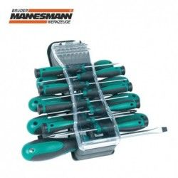 Комплект отвертки с накрайници, 32 части  / MANNESMANN 11132 /