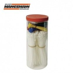 Комплект връзки за кабели 300 бр. / Mannesmann 13050 /