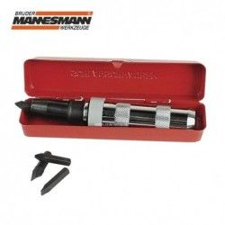"""Професионална ударна отвертка с 5 накрайника 1/2"""" 12.5 mm / Mannesmann 179 /"""