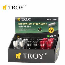 Aluminium Flashlight 24 Pcs in Display Box 2