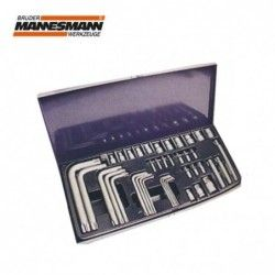 Special Е - sockets and L-Shaped T-Profile keys, 40 pcs.  / Mannesmann 188-40 /