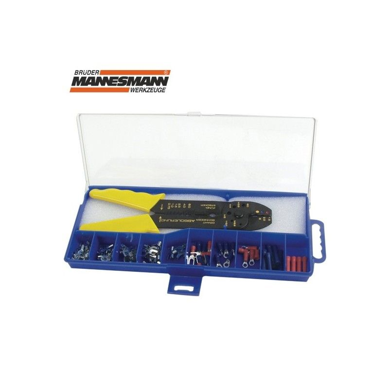 Комплект кабелни обувки, с клещи за кабелни обувки  / MANNESMANN 208-3 /