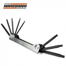 Комплект ключове тип ТОРКС, 8 бр.  / Mannesmann 29036 /