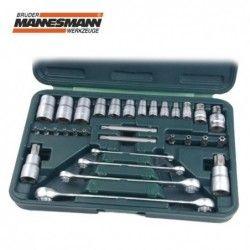 Комплект професионални ключове и вложки тип Торкс, 31 части  / MANNESMANN 29130 /
