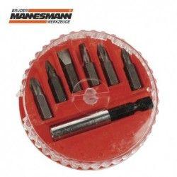 Screwdriver bits set 7 pieces  / MANNESMANN 297-07 /