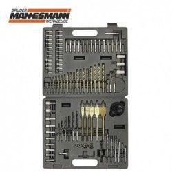 Комплект накрайници за отвертка и свредла, 101 бр. / Mannesmann 29815 /