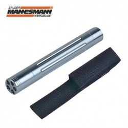 Aluminium torch with 5 LEDs / Mannesmann 30631 /