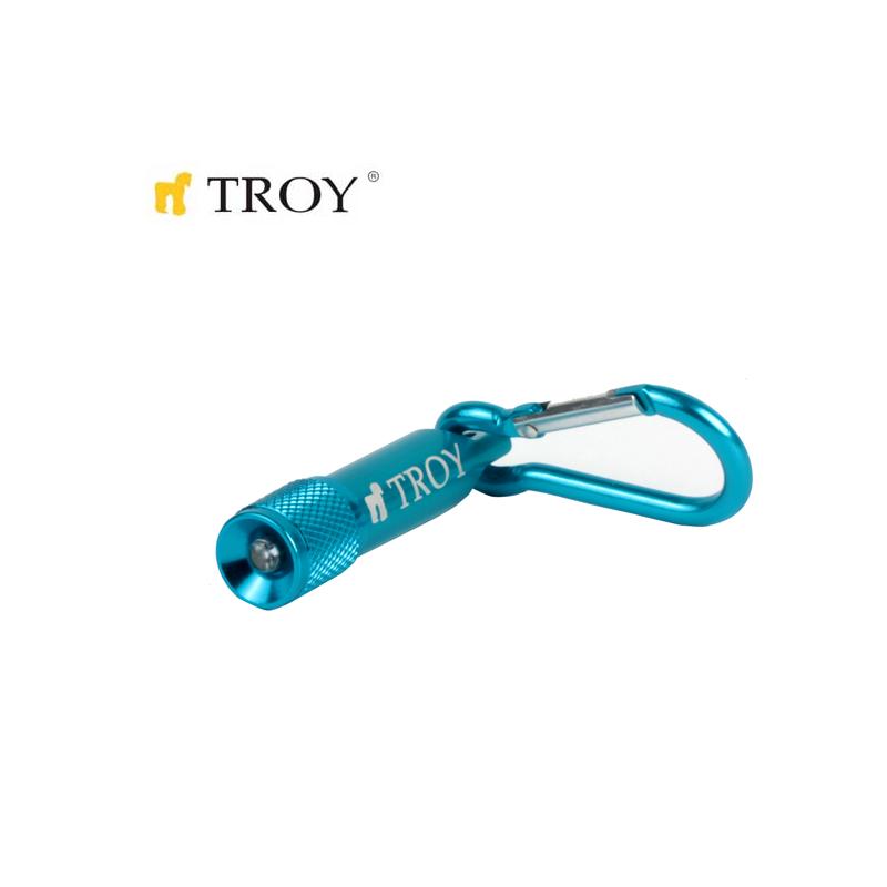 TROY 28097 Mini El Feneri ve Anahtarlık 24 Adet, Standlı