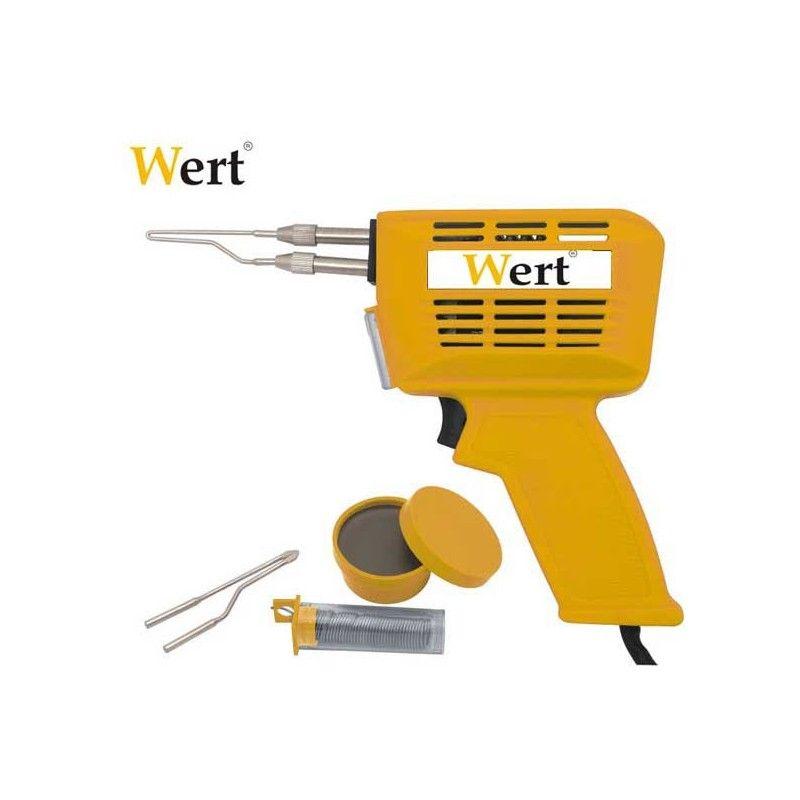 Индукционен поялник тип пистолет / Wert 2443 /  100W