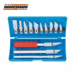Set cuttere hobby, 16 piese