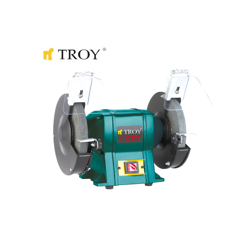 Bench Grinder Ø175 x 20mm x Ø32mm / Troy 17175 /