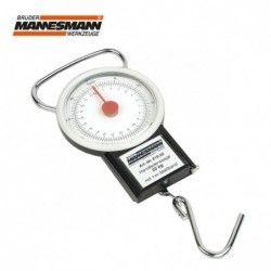 Ръчно кантарче с ролетка 0-22 кг / Mannesmann 819-22 /