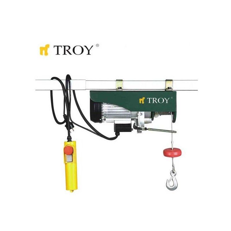 Електрическа лебедка 220V / 1000 W / 250 - 500кг / Troy 19700 /