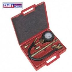Petrol engine compression tester, 6 pieces / SEALEY VS200D /