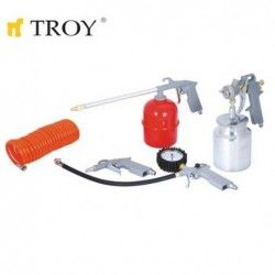 Комплект пневматични инструменти - 5 части / Troy 2008 /