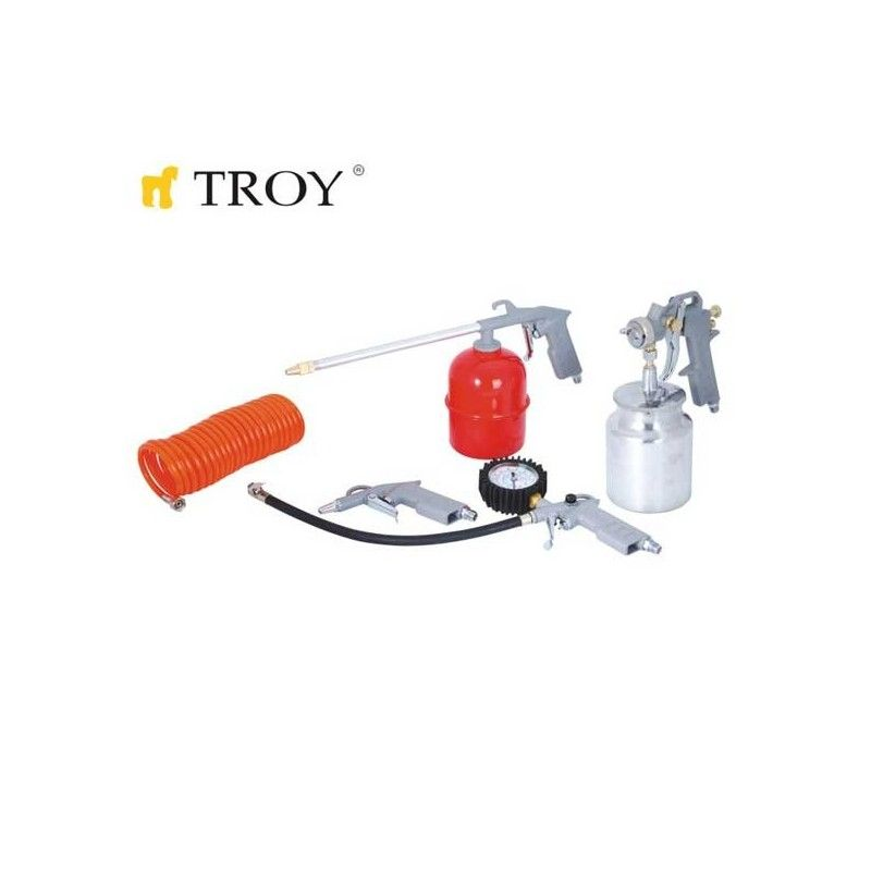 Air Tool Set 5 Pcs / Troy 2008 /