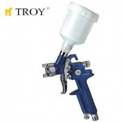 Mini Gravity Feed Spray Gun 1.0 mm / Troy 18620 /